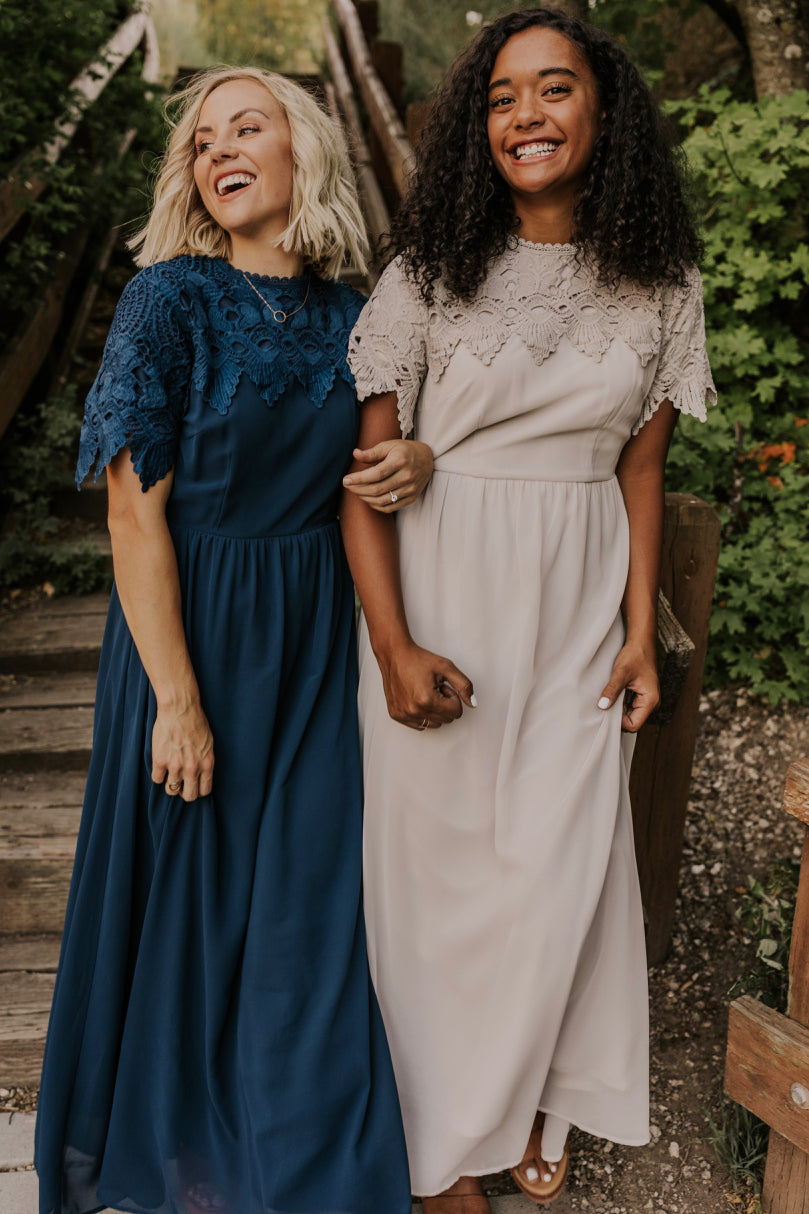Maxi Length Bridesmaid Dresses | ROOLEE