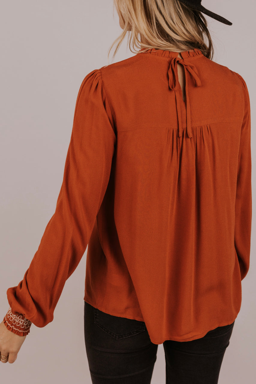 Blouse for Fall | ROOLEE