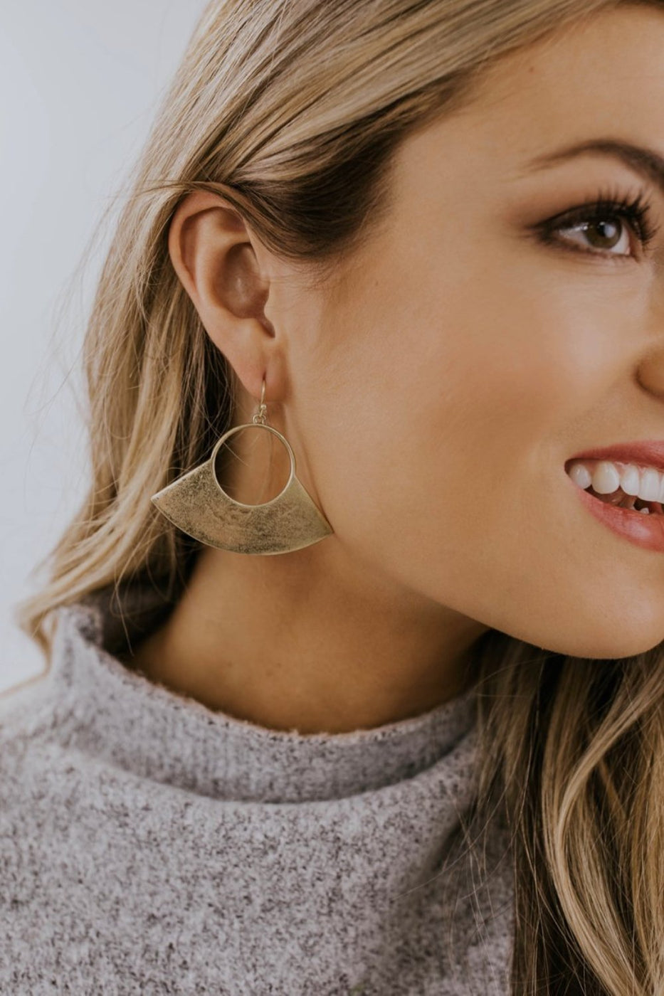 Gold-Plated Statement Earrings | ROOLEE