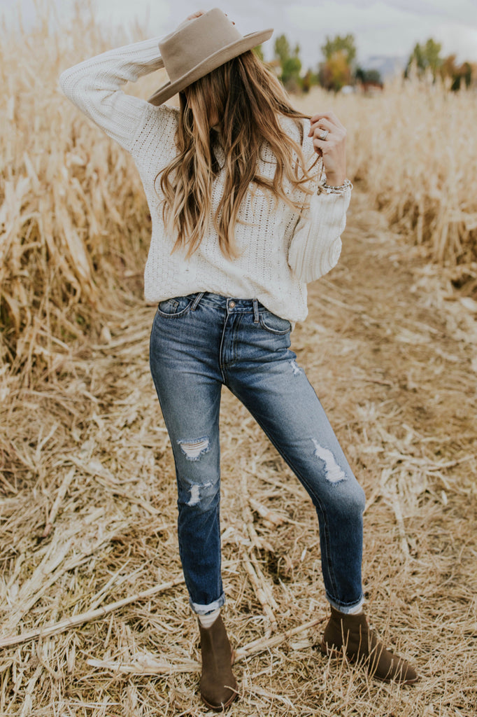 Turtleneck Sweater Outfit | ROOLEE