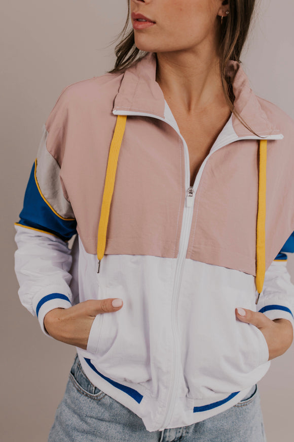 Colorblock Windbreaker | ROOLEE