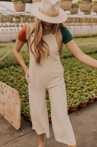 Linen Overalls for Summer | ROOLEE