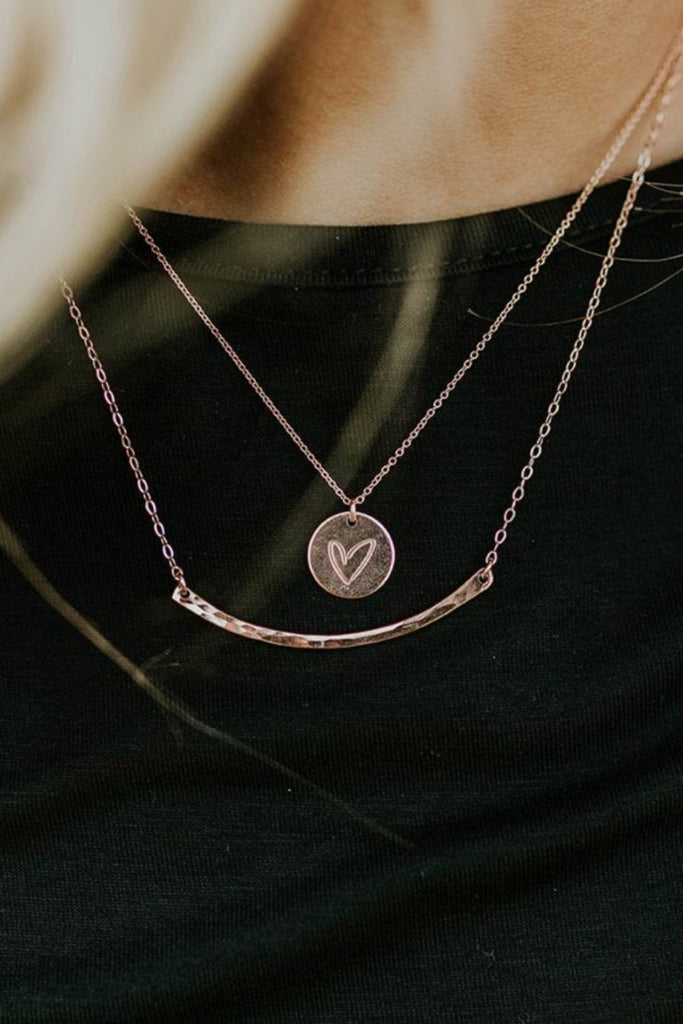 Lovestruck Disc in Rose Gold | ROOLEE