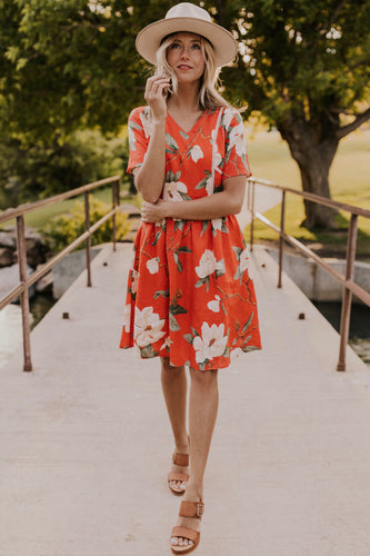 Emilija Floral Dress | ROOLEE