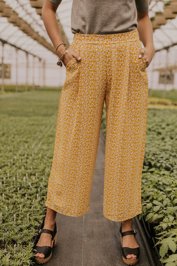 Floral Palazzo Pants | ROOLEE