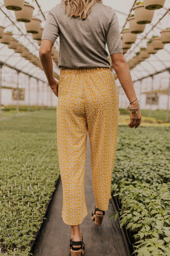 Floral Pocket Pants | ROOLEE