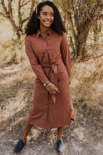 Rust Belt Dress | ROOLEE