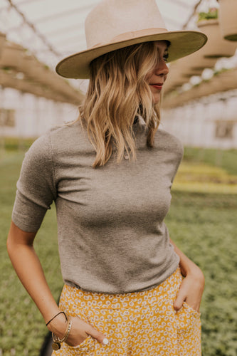 Grey Layering Tops | ROOLEE