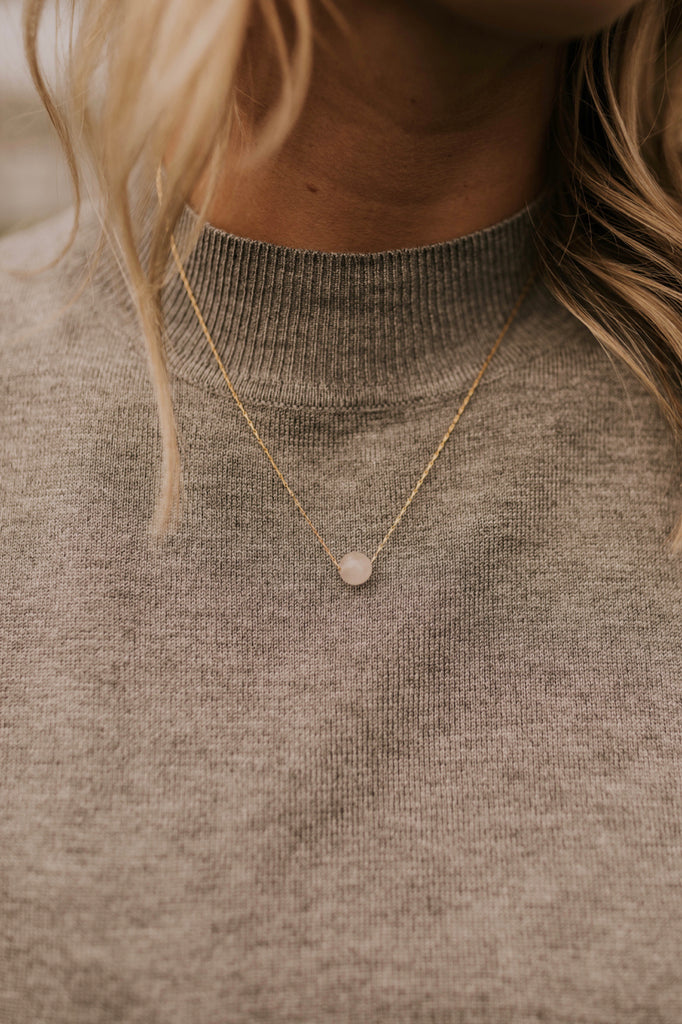 Rose Gem Necklace | ROOLEE