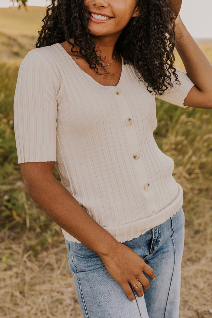 Simple Button Top | ROOLEE
