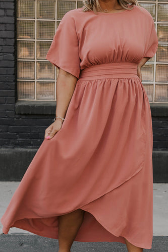 Dusty Rose Maxi Dress | ROOLEE