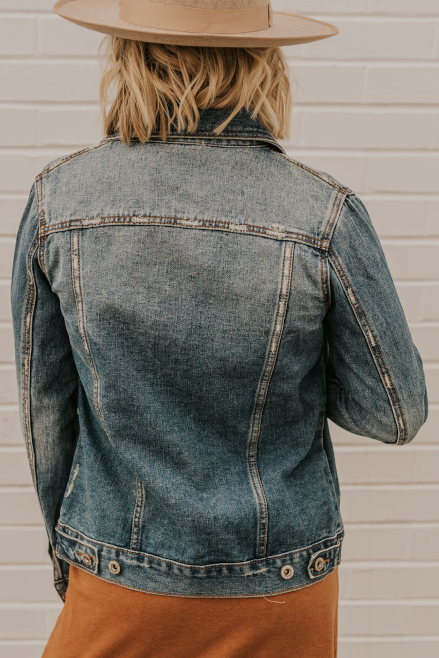 Long Sleeve Denim Jacket | ROOLEE