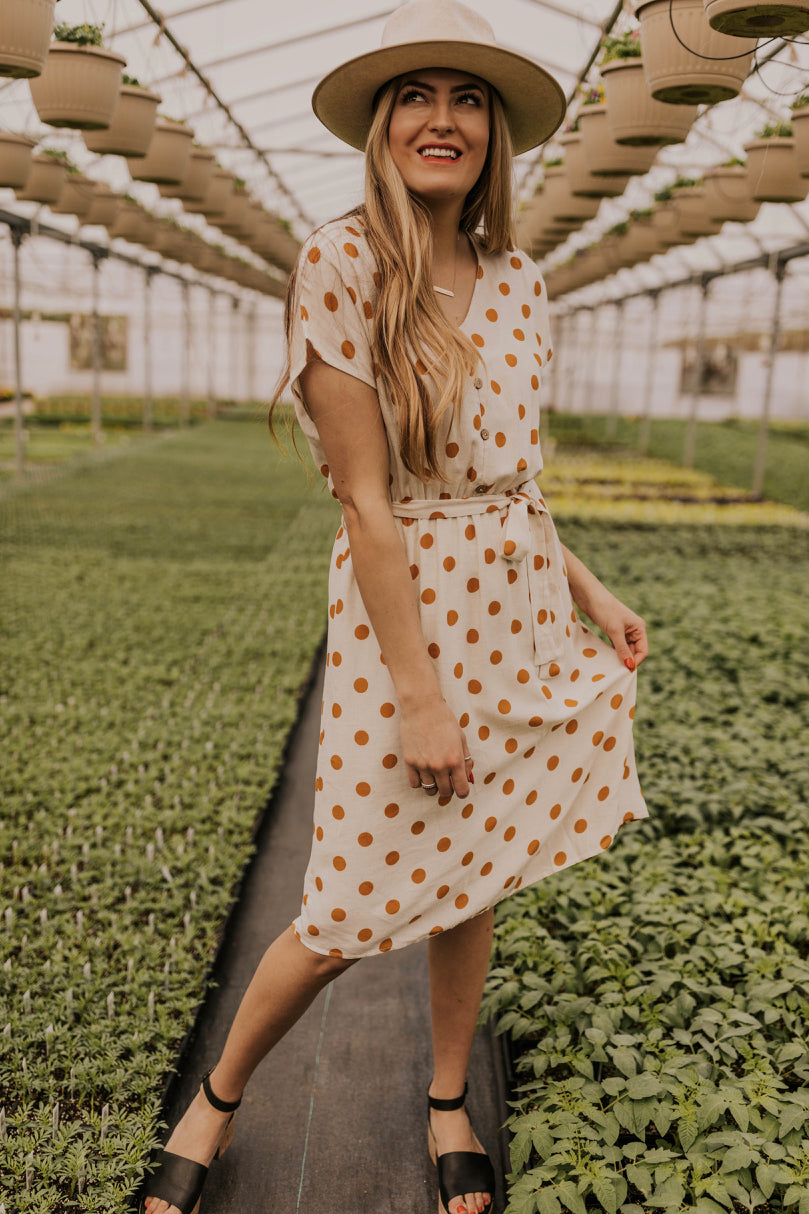 Polka Dot Modest Spring/Summer Dress | ROOLEE