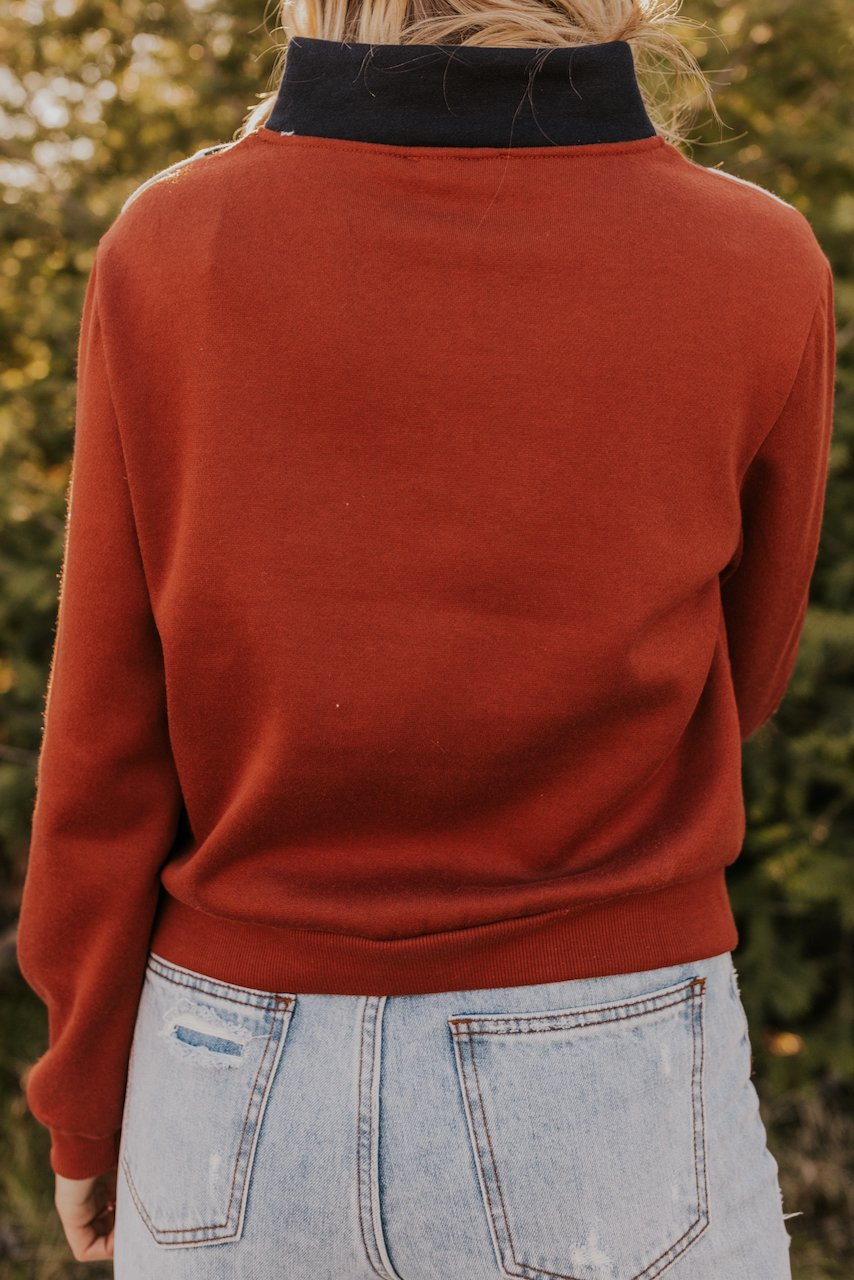 Zipped Pullover | ROOLEE