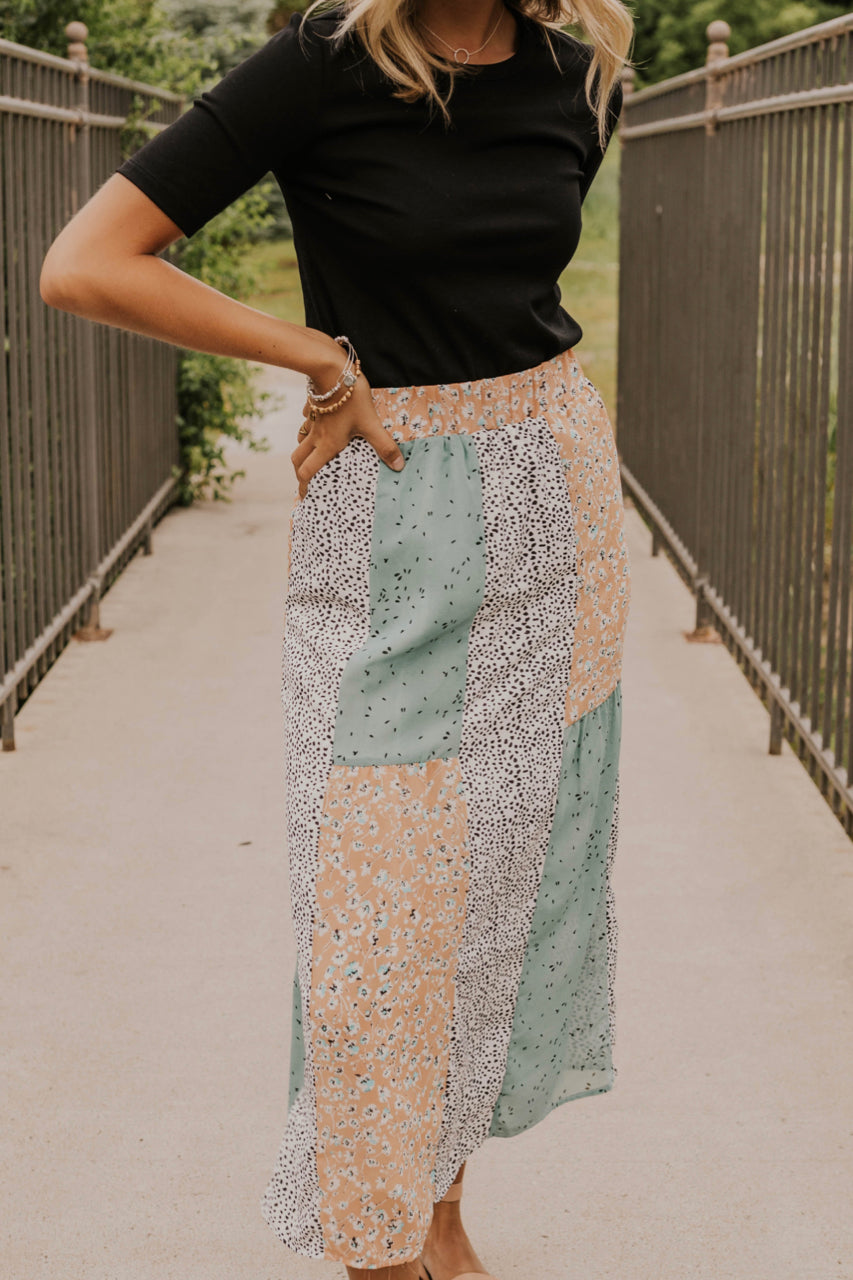 Shop Online Colorful Maxi Skirts | ROOLEE