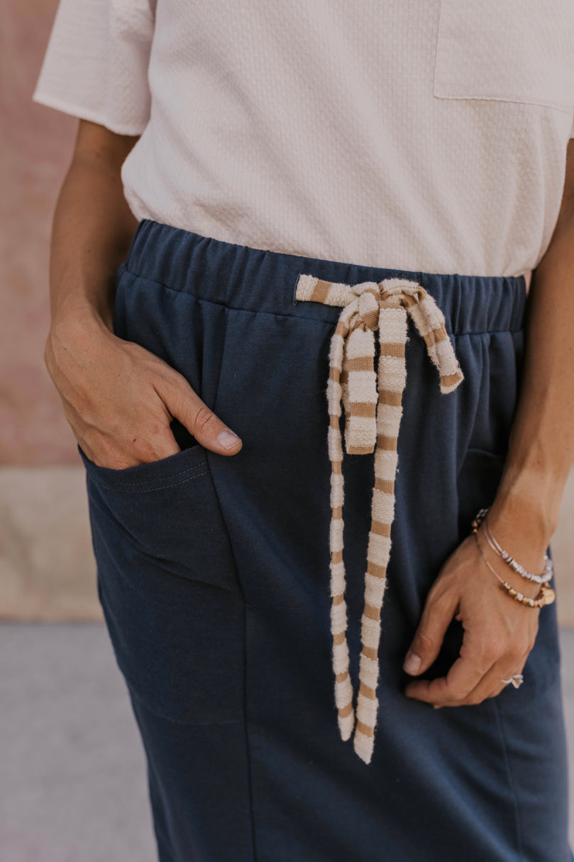 Casual Drawstring Skirt | ROOLEE