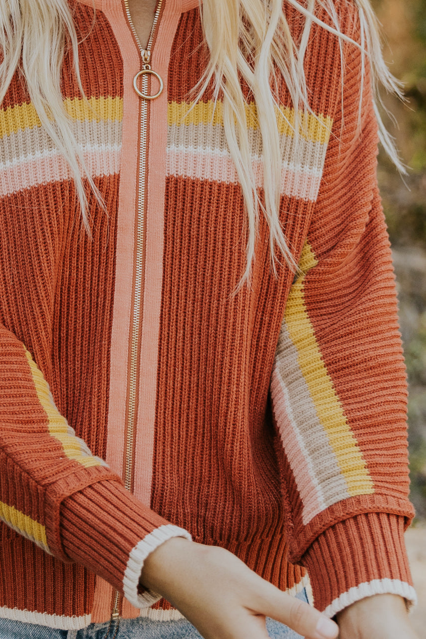 Colorful retro zip up jackets | ROOLEE