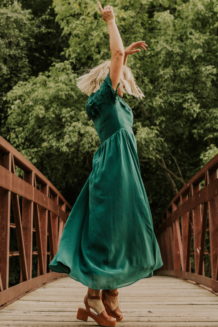 Green Formal Dress | ROOLEE