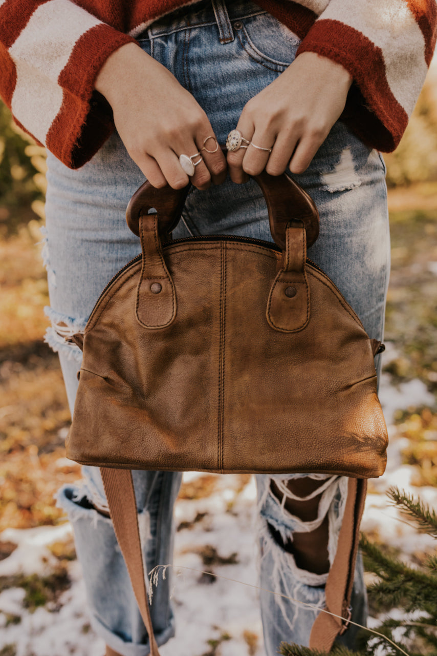 Wooden Handle Bag | ROOLEE