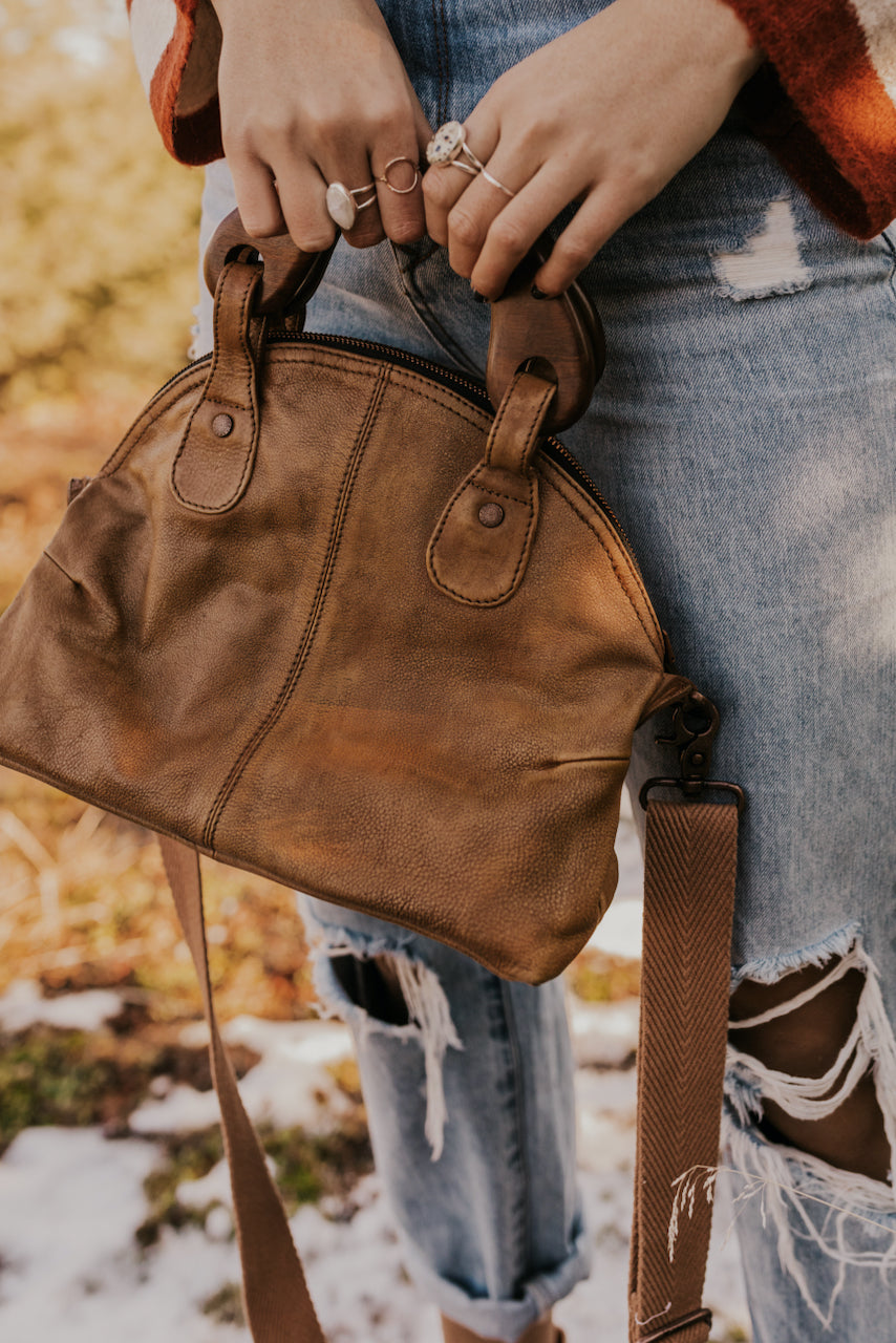 Free People Leather Crossbody Bag | ROOLEE