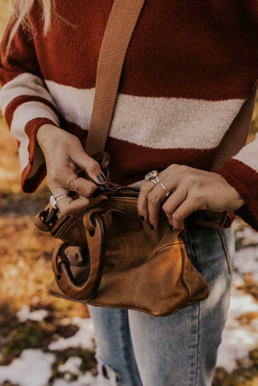 Leather Free People Bag | ROOLEE