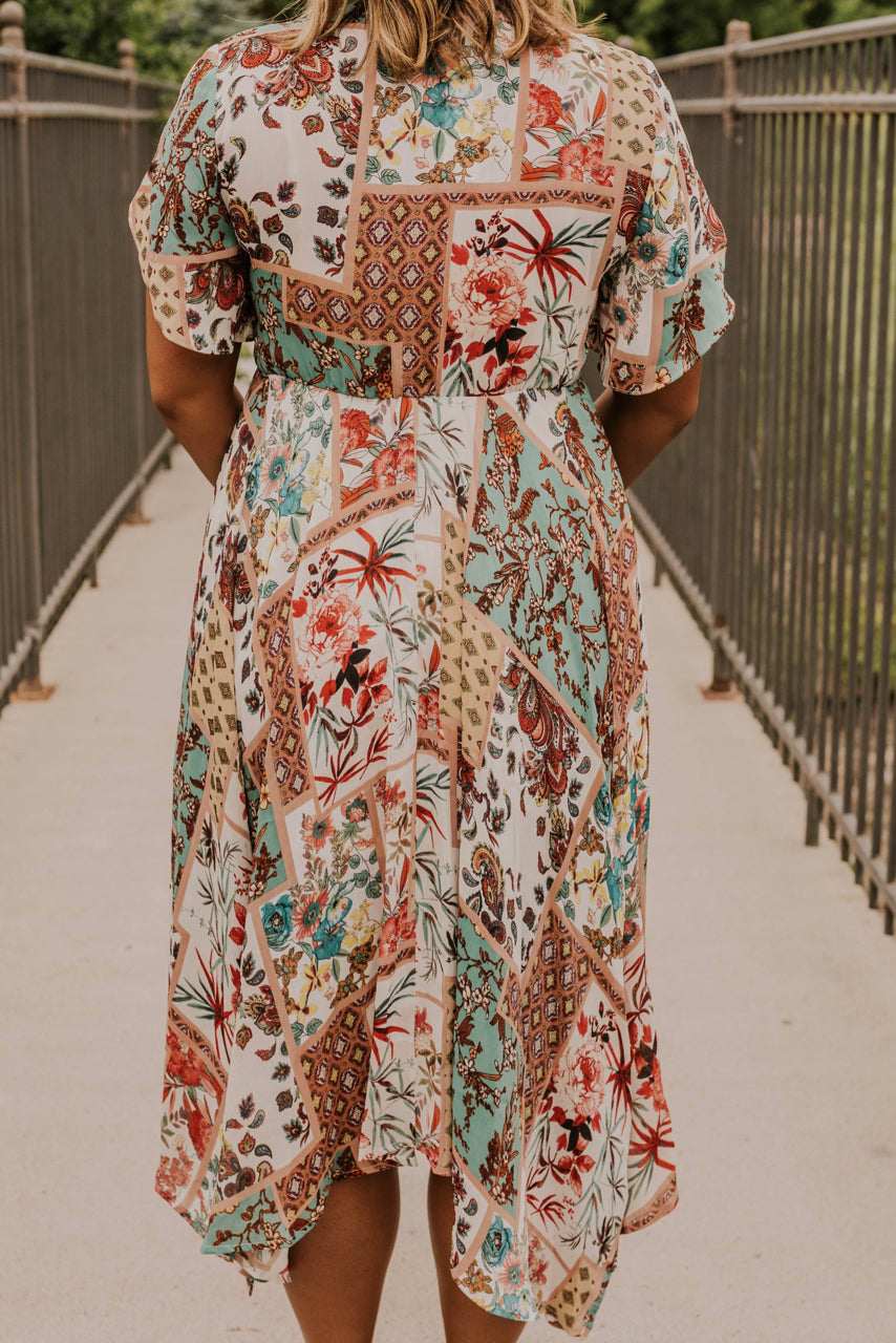 Patchwork Pattern Dress | ROOLEE
