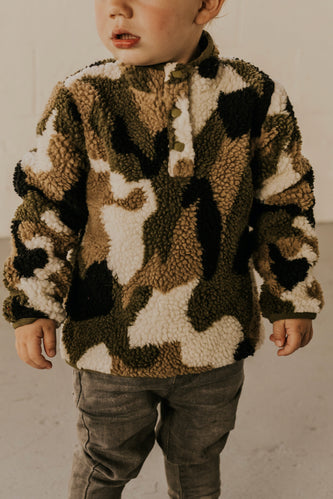 Kids Fleece Pullover | ROOLEE