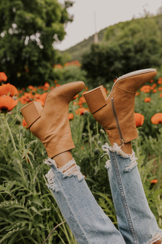 Leather Heeled Boots | ROOLEE