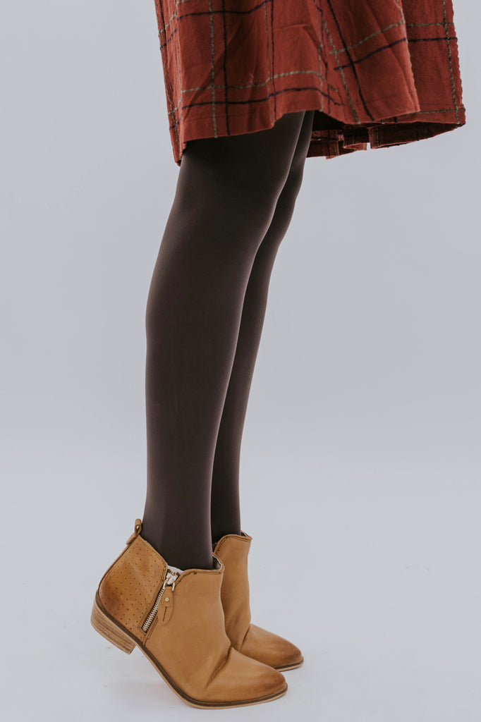 Solid Basic Opaque Tights | ROOLEE