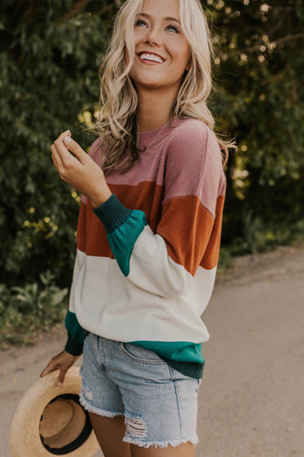 Multi Stripe Sweater | ROOLEE