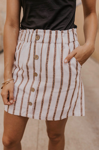 Button Skirt Summer | ROOLEE