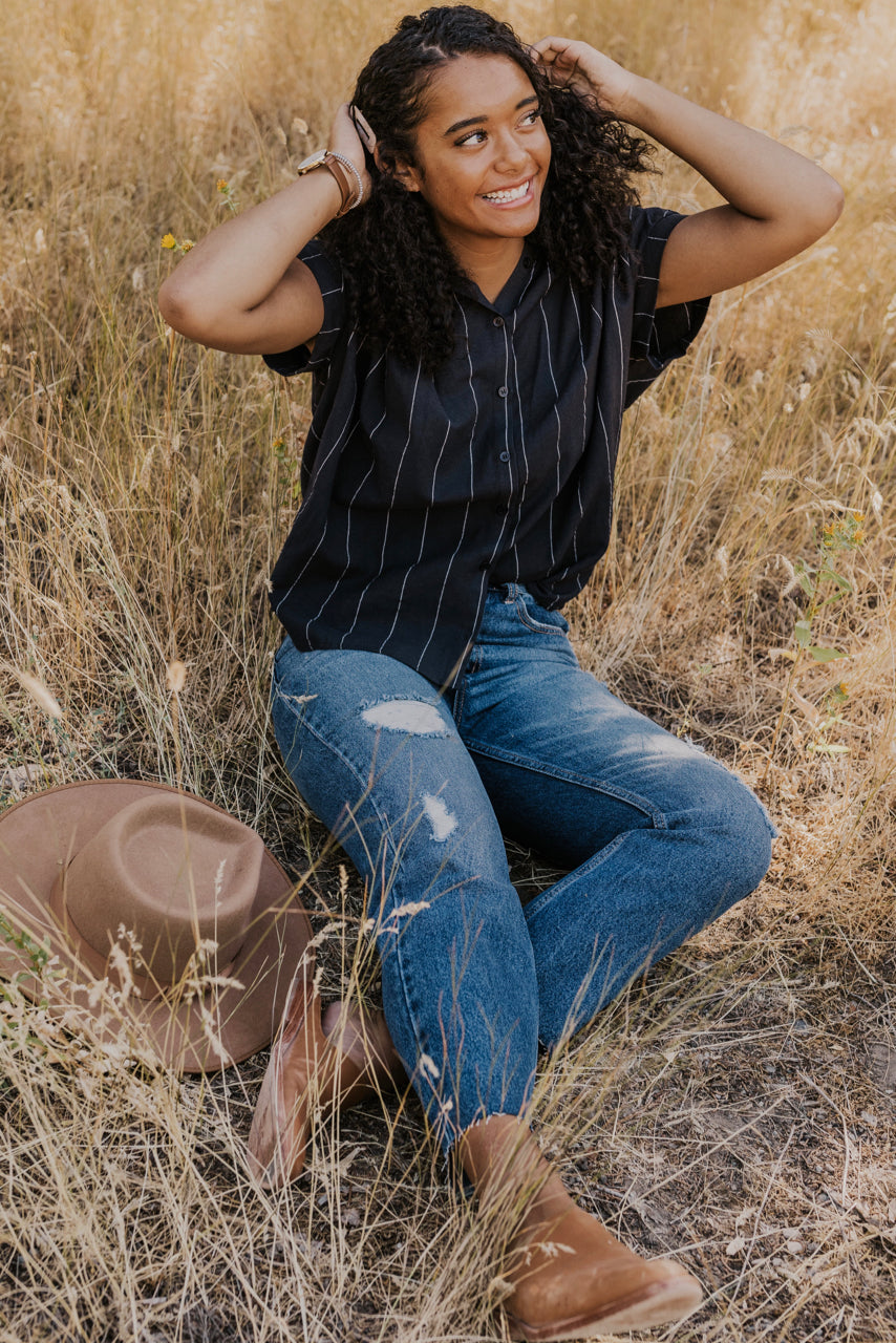 Nursing Friendly Button Up | ROOLEE