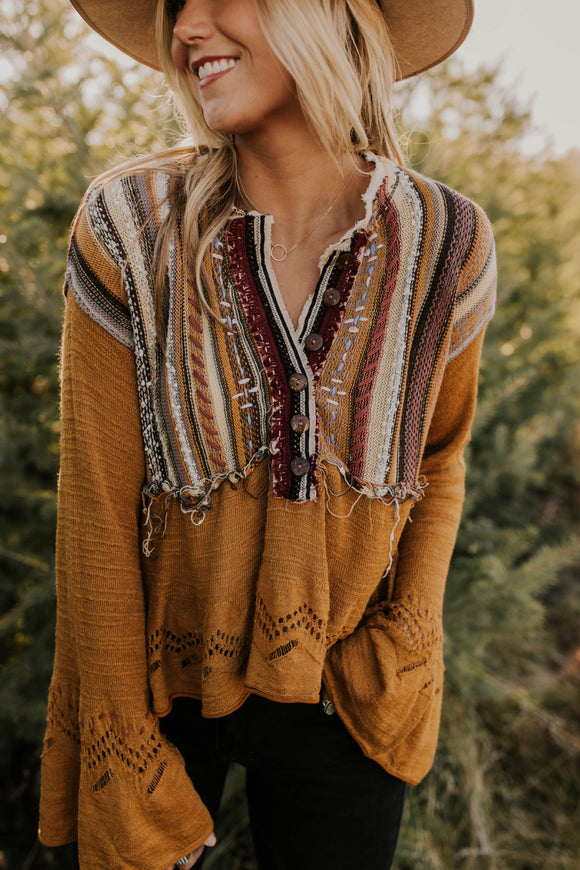 Free People Meadow Lakes Sweater | ROOLEE Tops