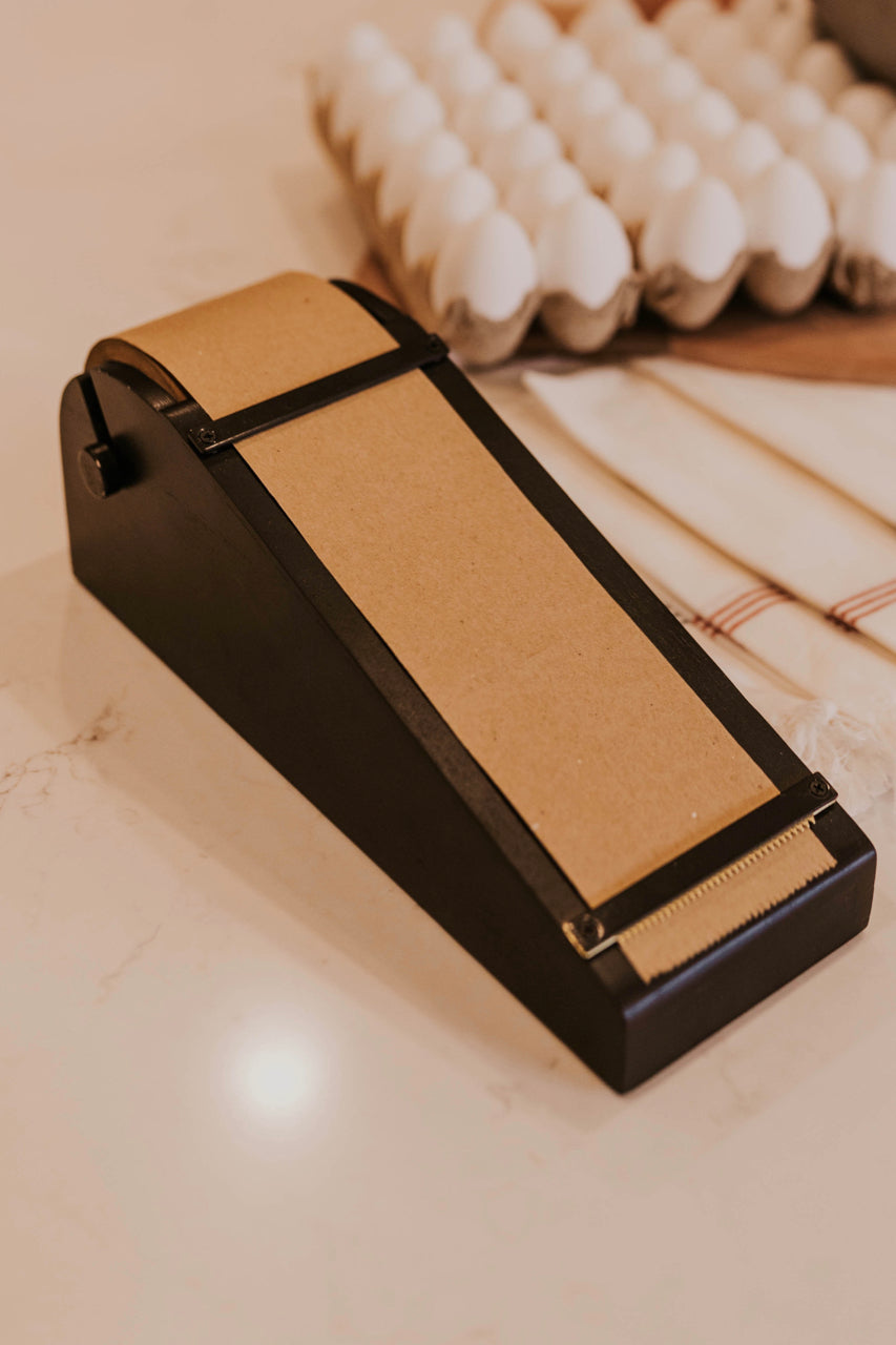 Black Desktop Note Roller | ROOLEE
