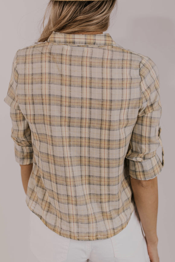 Plaid Tops for Women | ROOLEE