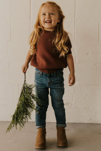 Toddler Girls Holiday Sweater Outfit | ROOLEE