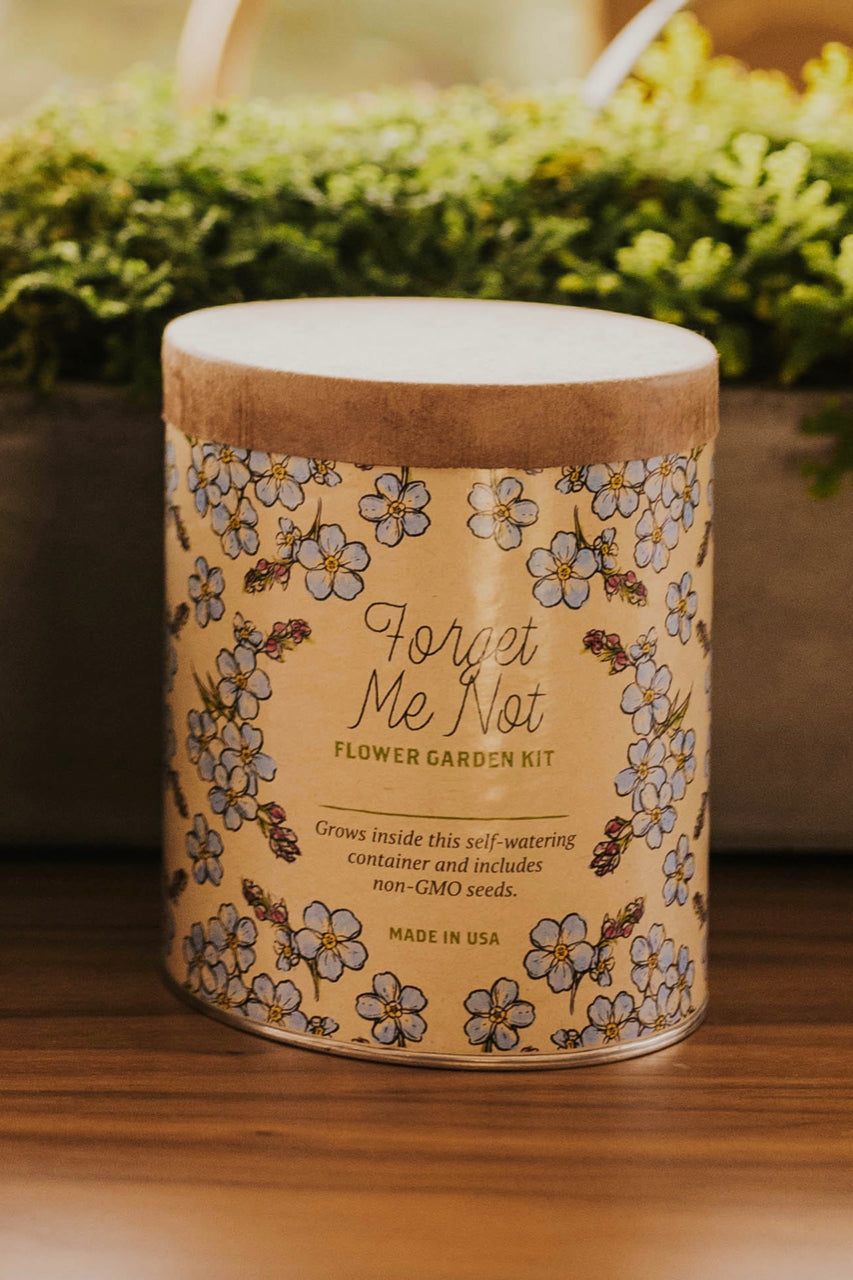 Forget Me Not Flower Garden Kit