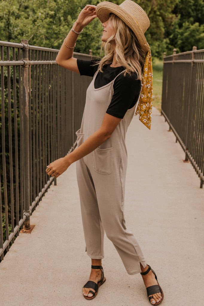Women's Jumpsuits For Summer Gray | ROOLEE