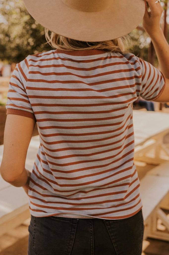 Striped Ringer Tee | ROOLEE