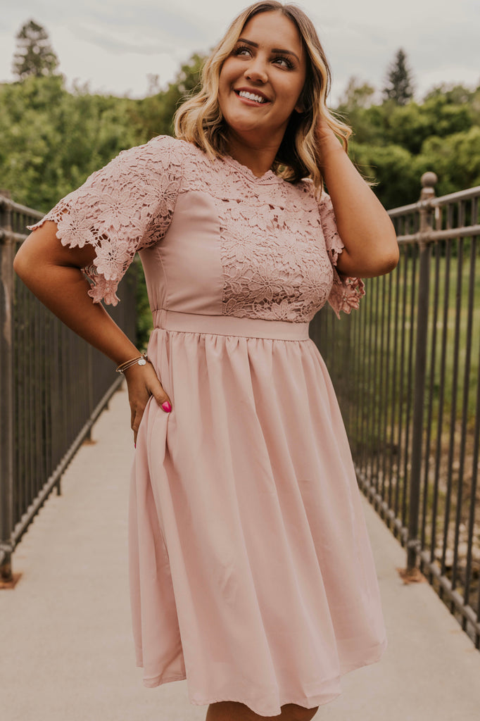 Lace Bridesmaids Dress | ROOLEE