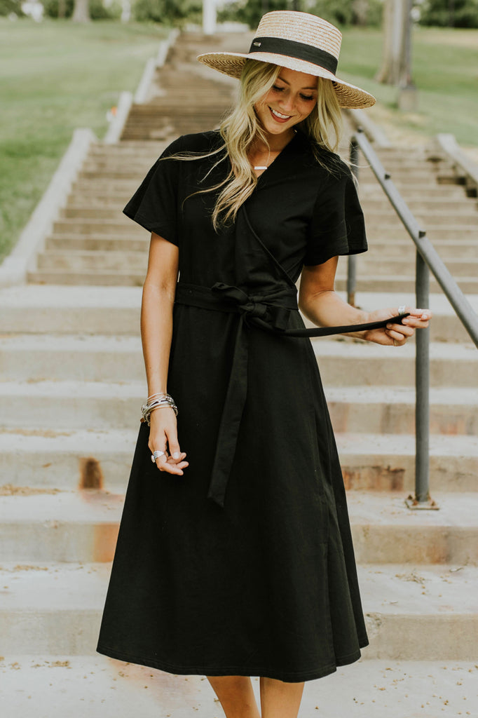 Lincoln Wrap Dress | ROOLEE