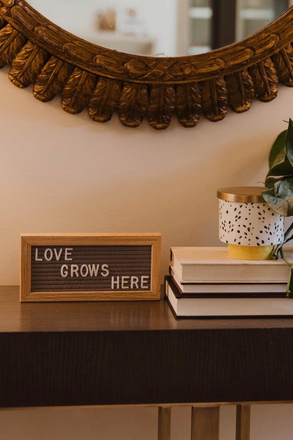 Letter Board Wall Decor | ROOLEE