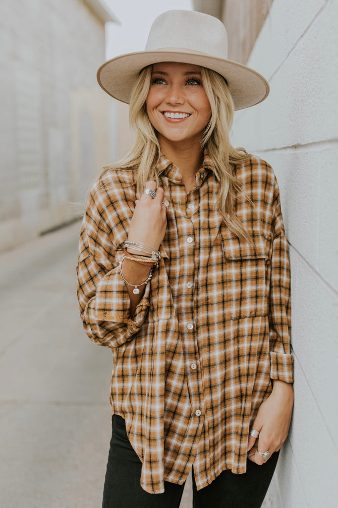 Fall Flannel Outfit Ideas | ROOLEE
