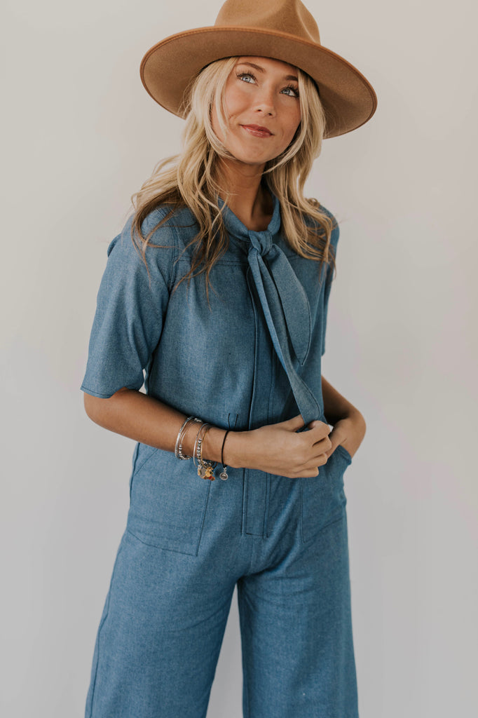 Pocketed Jumpsuit Outfits | ROOLEE