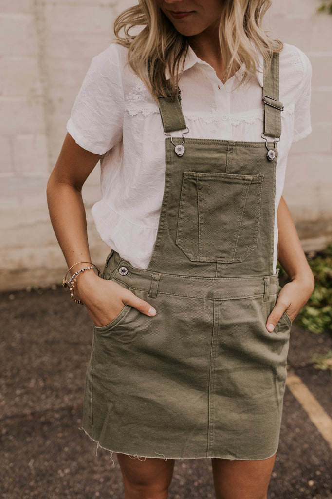 Cute Women's Overall Dress | ROOLEE