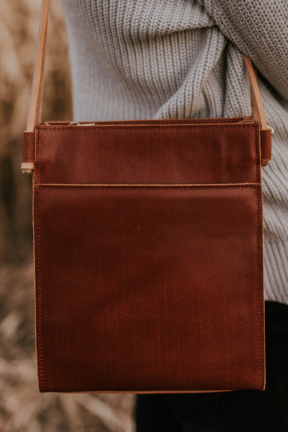 Yuma Leather Purse | ROOLEE