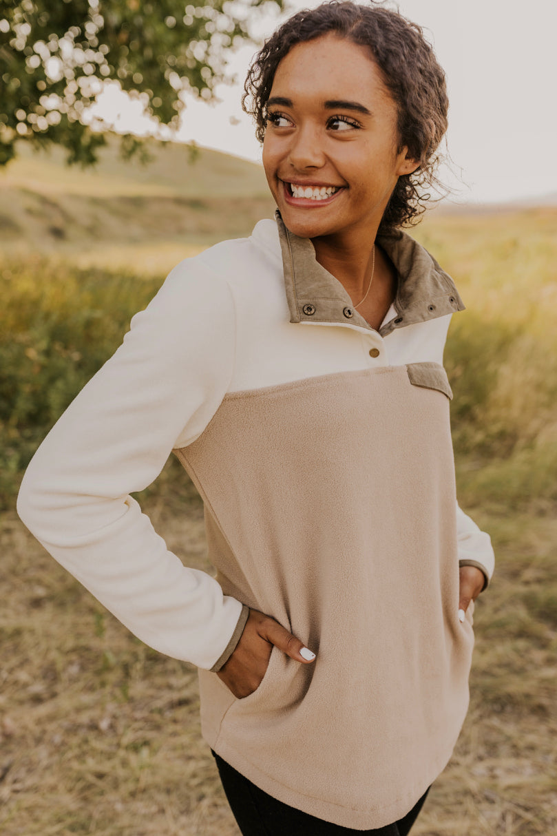 Dahna Pocket Pullover