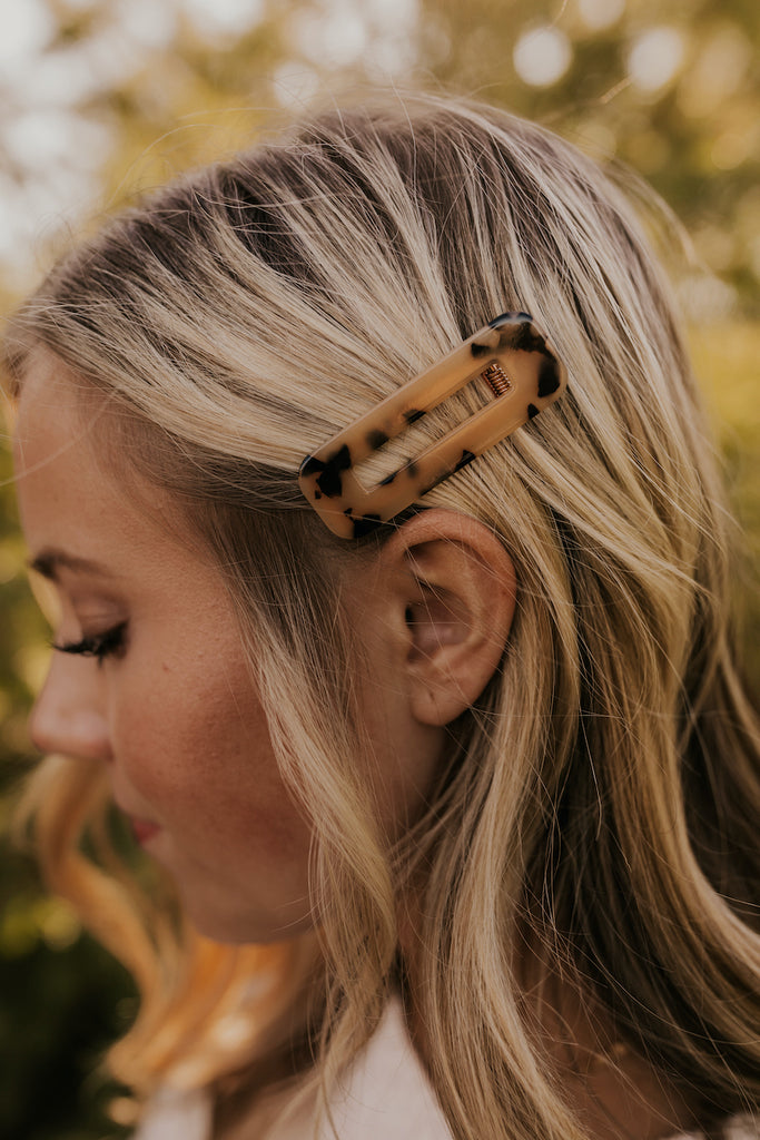 Leopard Print Clips | ROOLE