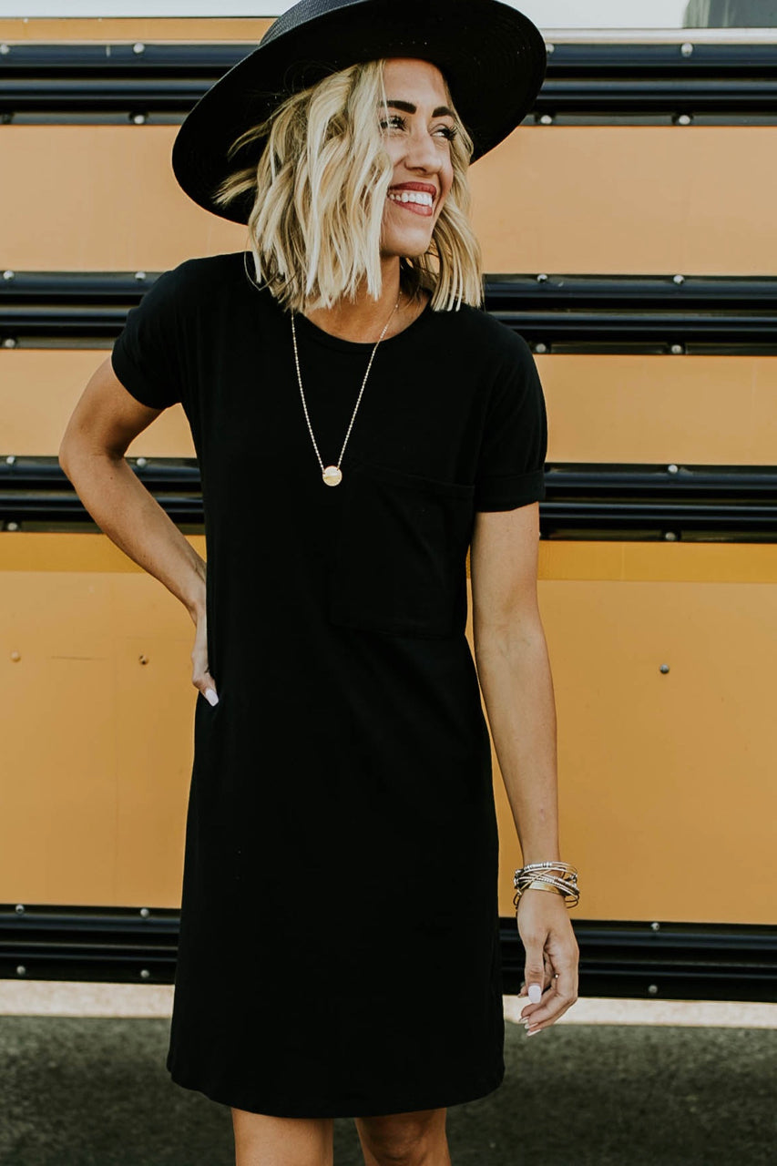 Black Nursing Dress | ROOLEE