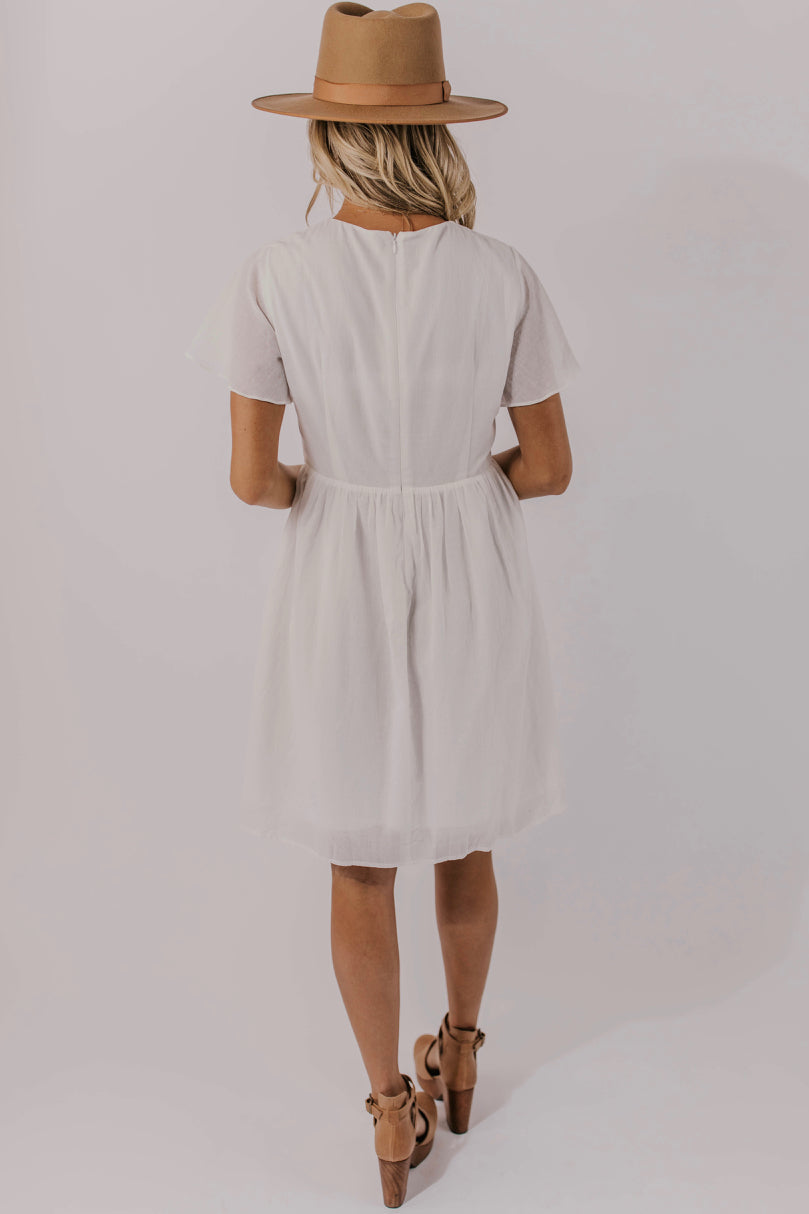 Women's Embroidered Dress | ROOLEE